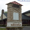Signs By Benchmark Custom Monument Sign for City of Medina, MN