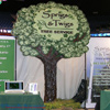 Foam tree trade show display