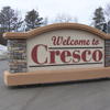 Signs By Benchmark custom monument sign for City of Cresco, IA