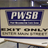 Signs By Benchmark sign for Port Washington State Bank Small