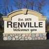 Signs By Benchmark monument sign for Renville community