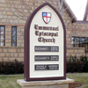 Signs By Benchmark custom monument sign for Emmanuel Ep Church