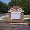 EIFS stone custom community welcome sign