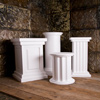 Roman and Greek replica columns
