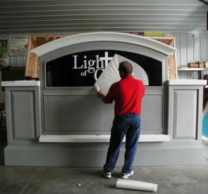 Light Of Christ Church Sign Graphics
