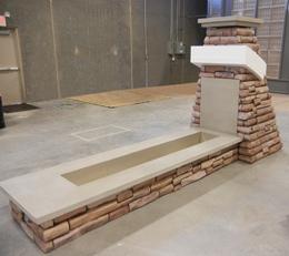 Faux Stone Base