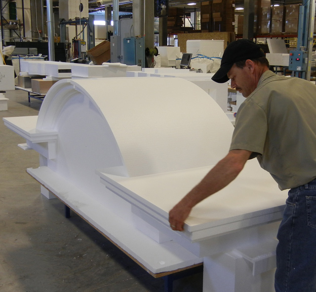 Signs By Benchmark Redwood Sign in Production