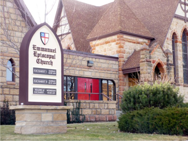 Signs By Benchmark Custom Sign for Emmanuel Epsicopal Church