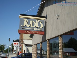 Signs By Benchmark - Projecting Judi's Restaurant Sign