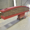 EIFS stone sign base and top