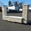 EIFS stone sign base