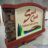 EIFS Stone Monument Sign