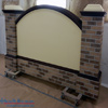 EIFS brick monument sign