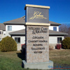 EIFS stacked stone sign