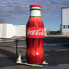 8.5 foot replica Coca-Cola Bottle