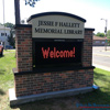 Integrated Library sign