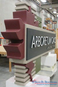 Prefabricated_Monument_Sign_Foam_Core