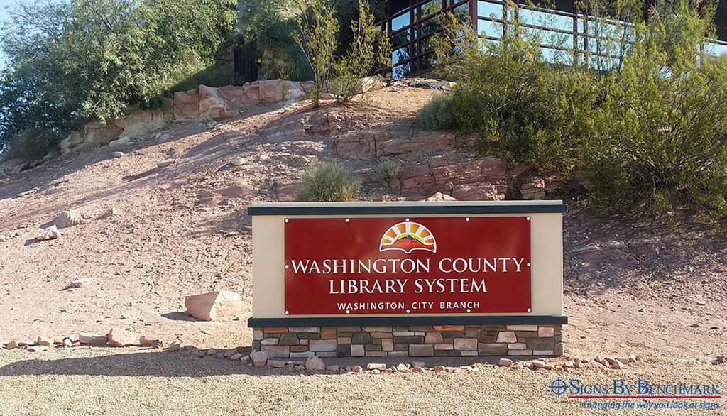 Custom Monument Sign Keeps Consistent Brand While Matching Multiple Exteriors