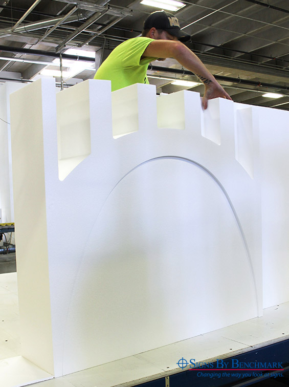 Foam Core Pittsburgh Bridge replica