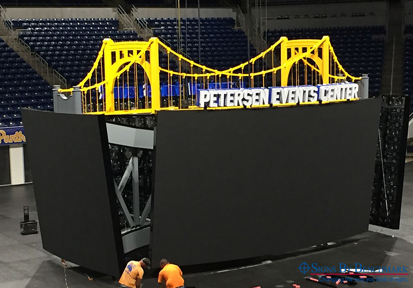 Replica Pittsburgh bridge by Signs By Benchmark
