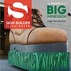 12' Replica Boot Appears on Sign Builder Illustrated magazine cover